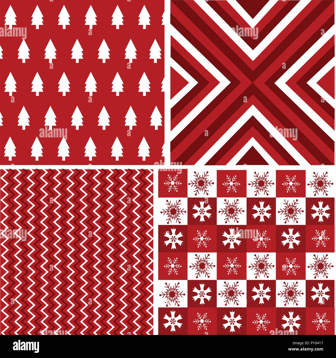Christmas Texture.Seamless Patterns With Fabric Texture Christmas Texture