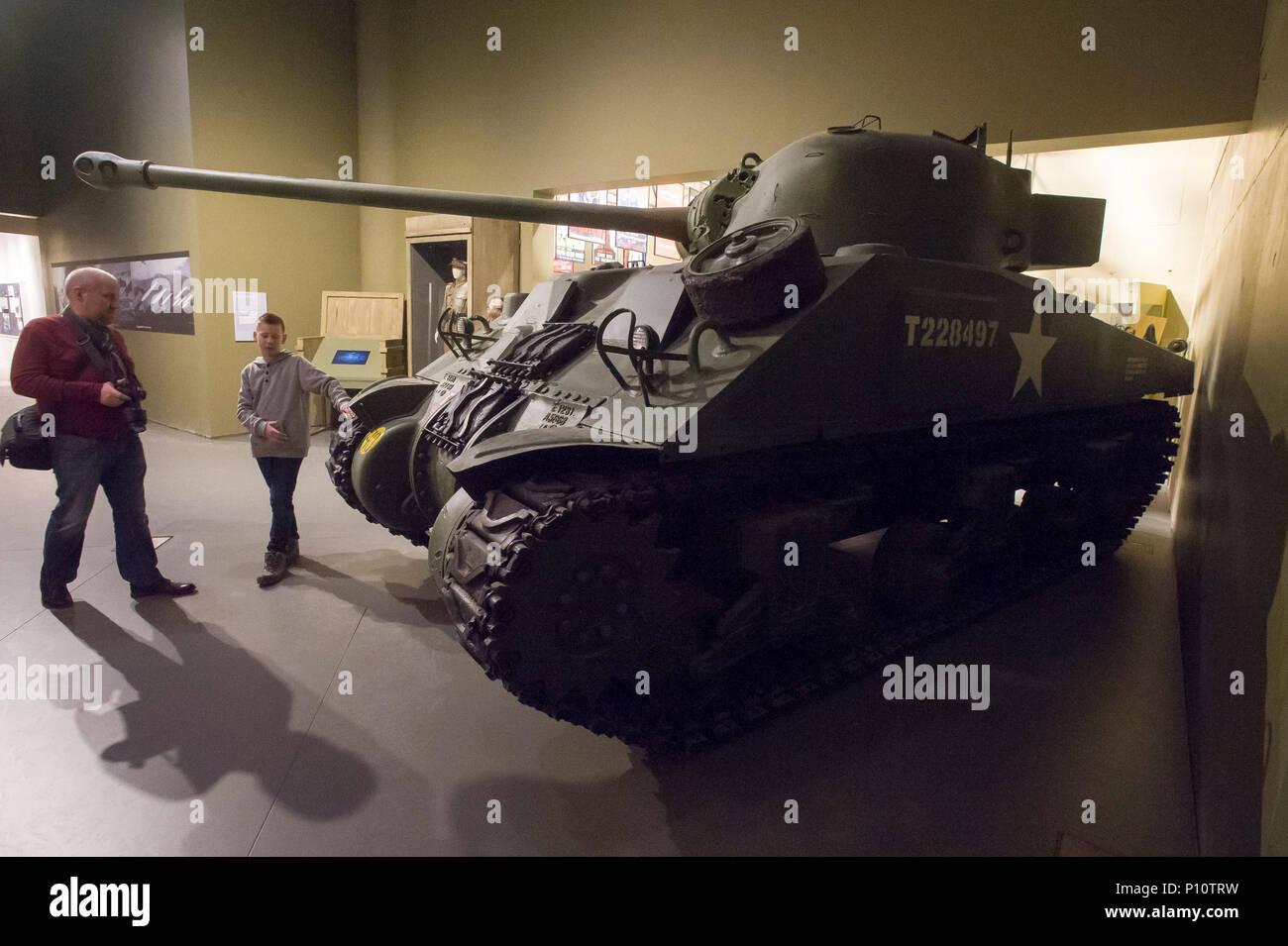 Medium tank Sherman Firefly used by 1st Polish Armoured