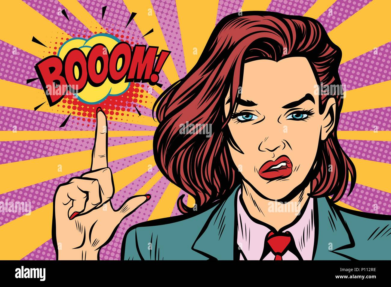 boom-strong-woman-index-finger-up-P112RE.jpg