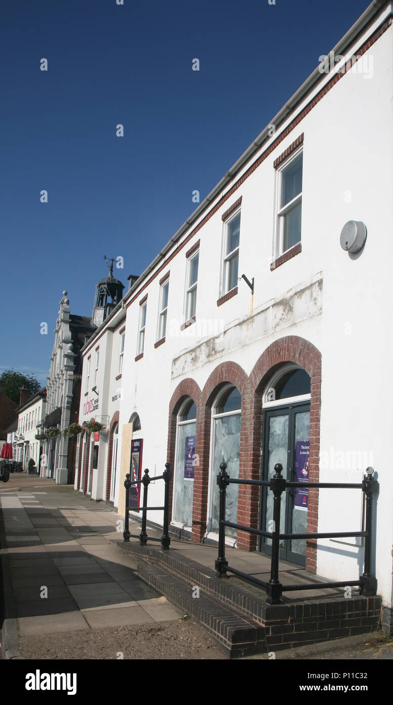 natwest bank close in Bawtry - Stock Image