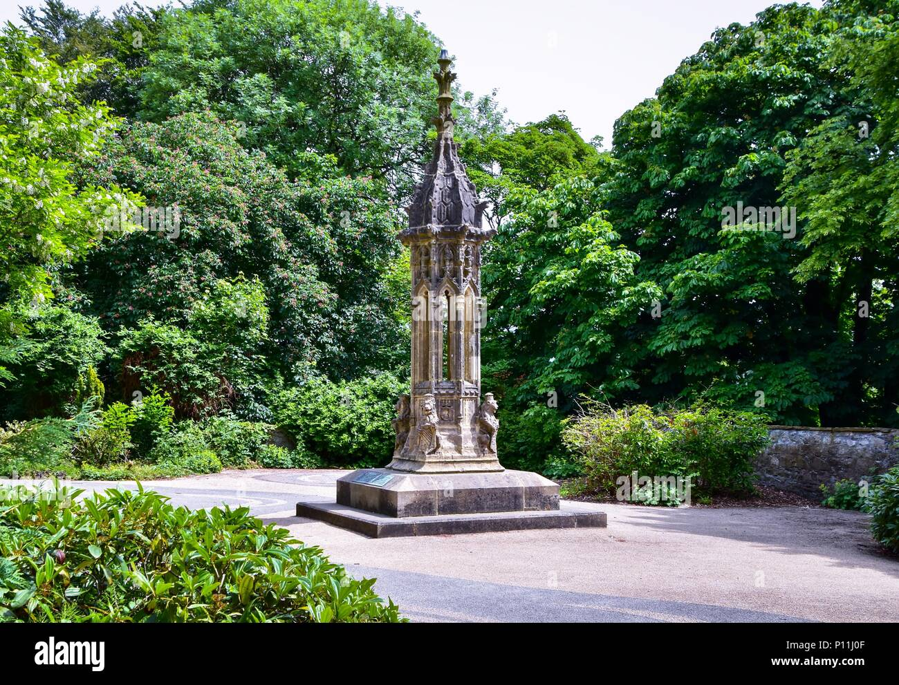 The Pinnacle at Clitheroe Castle - Stock Image