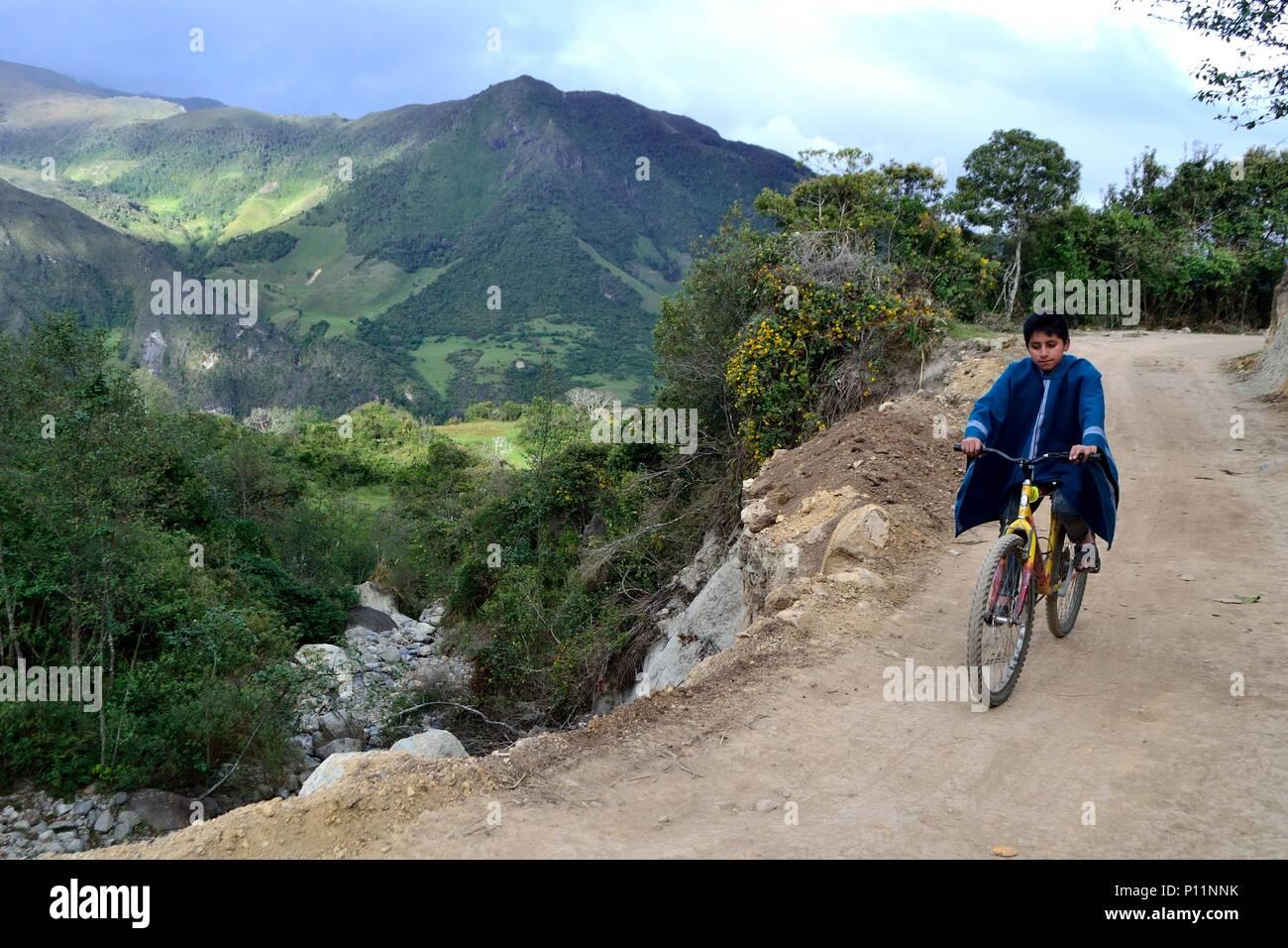 HUARHUAR ' Las Huaringas '  - HUANCABAMBA.. Department  of Piura .PERU                  - Stock Image