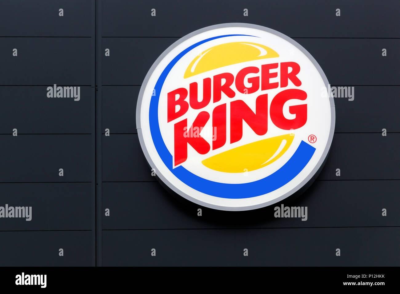 Signage For Burger King Stock Photos & Signage For Burger