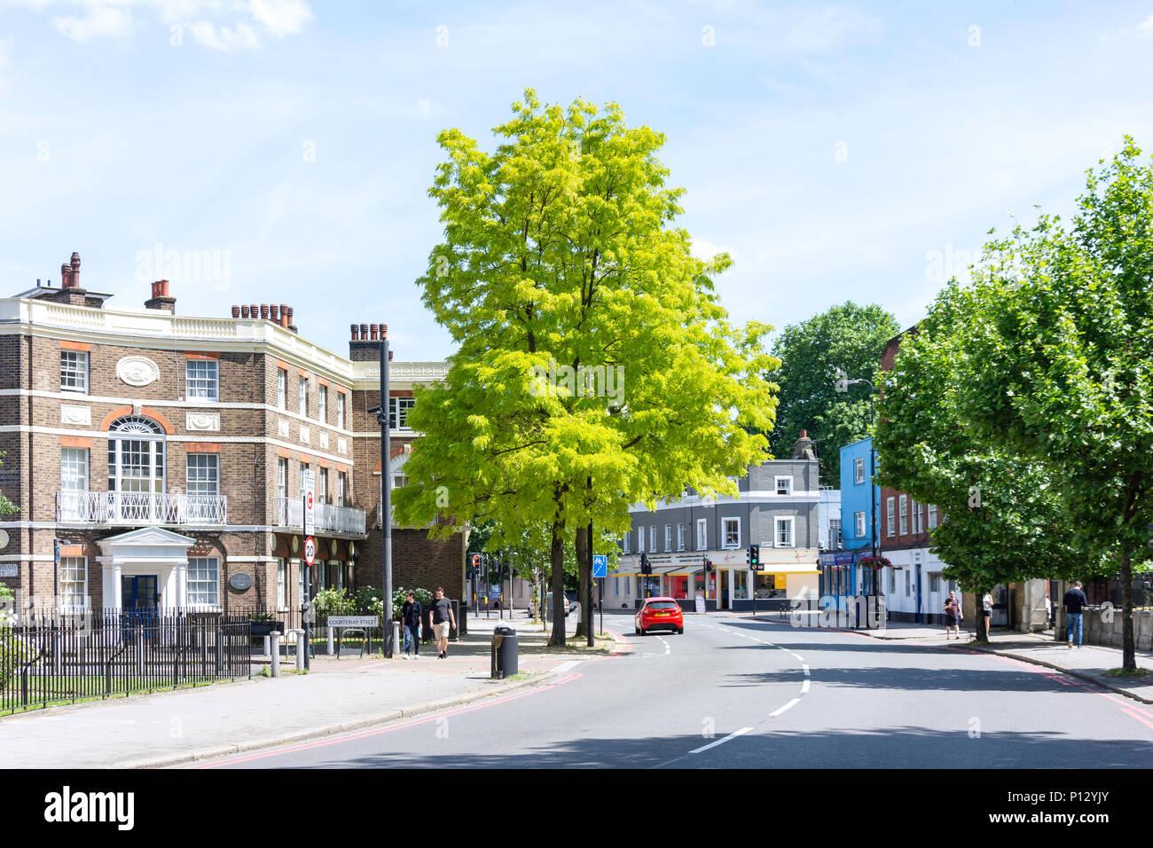 Kennington Lane, Kennington, London Borough of Lambeth, Greater London, England, United Kingdom - Stock Image