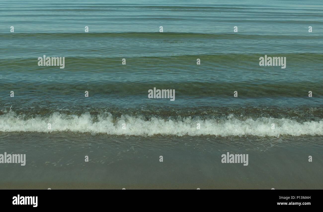 Beach of the Baltic Sea - Stock Image