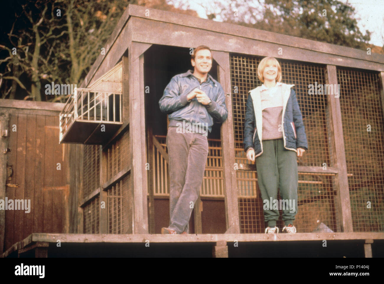 LITTLE VOICE 1998 Miramax film with Jane Horrocks and Ewan McGregor - Stock Image