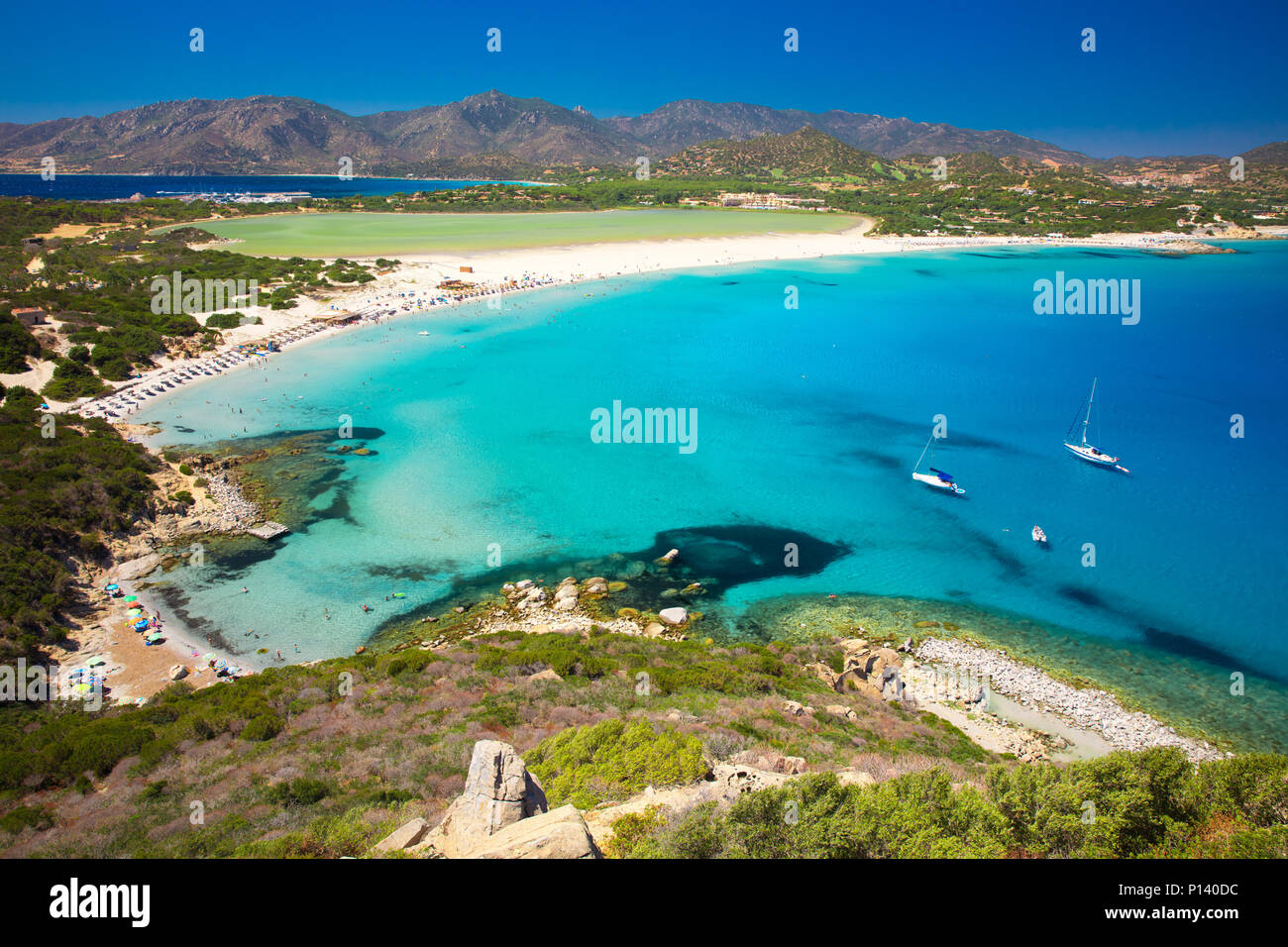 Porto Giunco Beach Villasimius Sardinia Italy Sardinia Is The