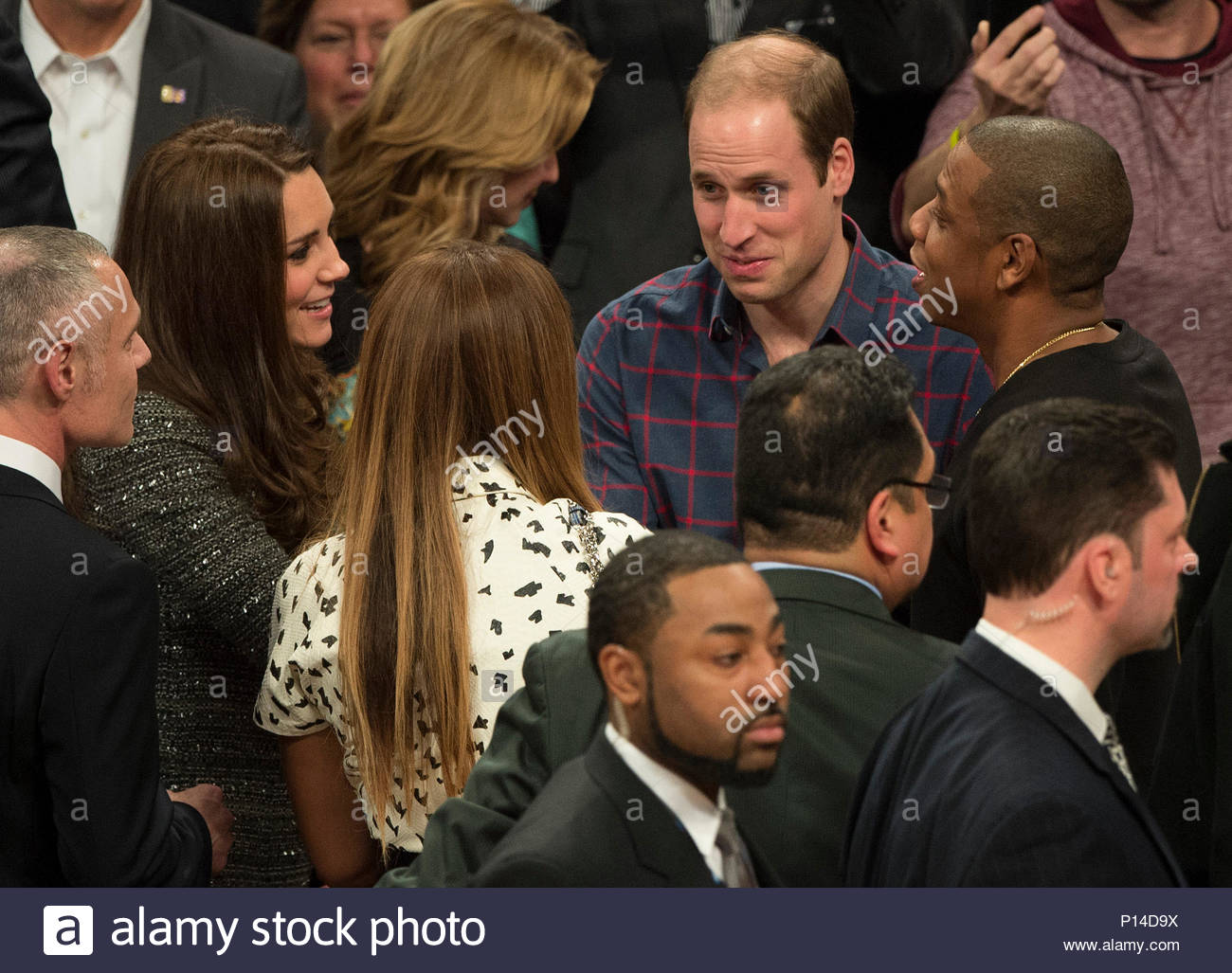 Catherine Duchess Of Cambridge Jay Z Beyonce And Prince William