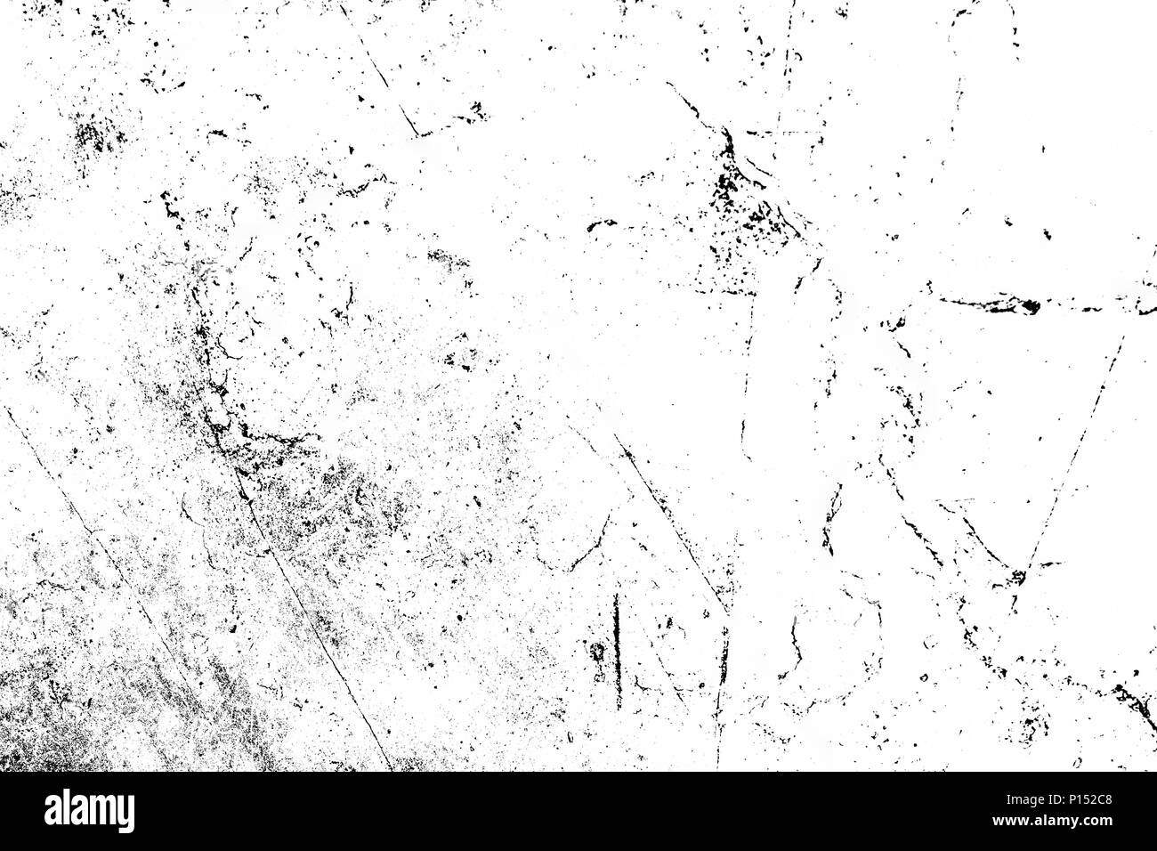 Grunge black and white Urban texture. Place over any object create black grunge effect. Distress grunge texture easy to use overlay. Distress grain ov - Stock Image