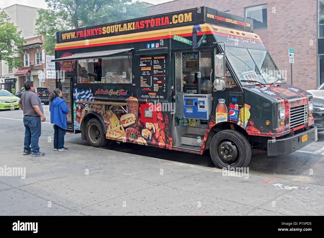 Greek Food Truck Astoria