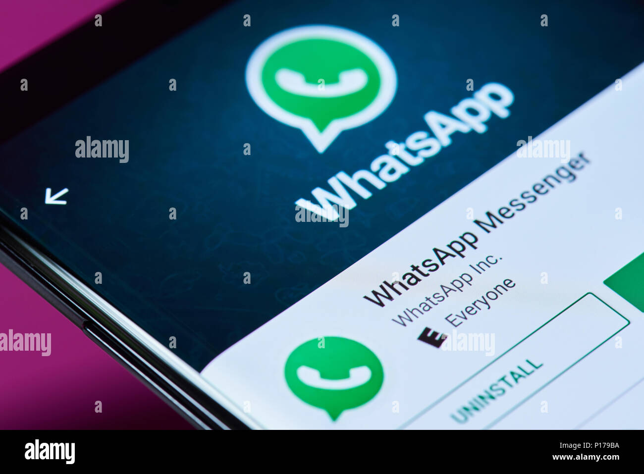 Whatsapp Stock Photos & Whatsapp Stock Images - Alamy