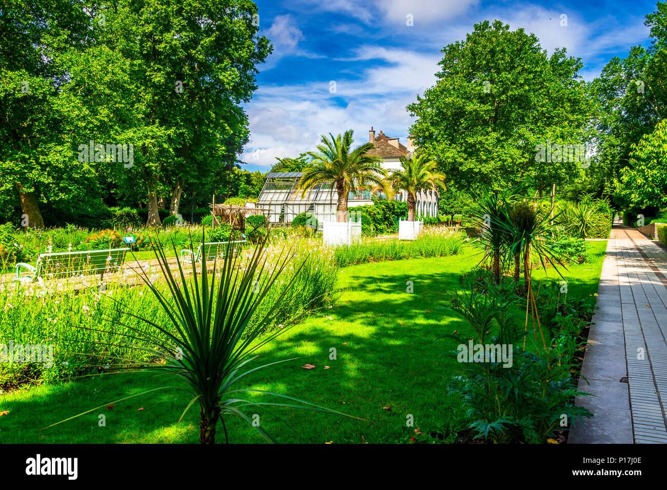 Parc de Bercy in Paris, France - Stock Image
