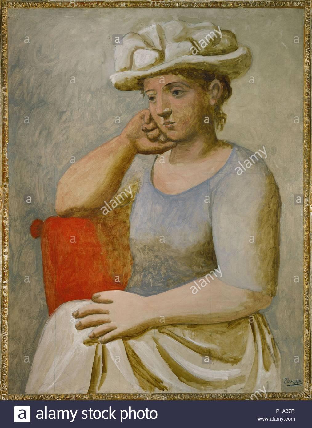 Femme au chapeau blanc, 1921 Canvas, 118 x 91 cm RF 1963-72. Author ...