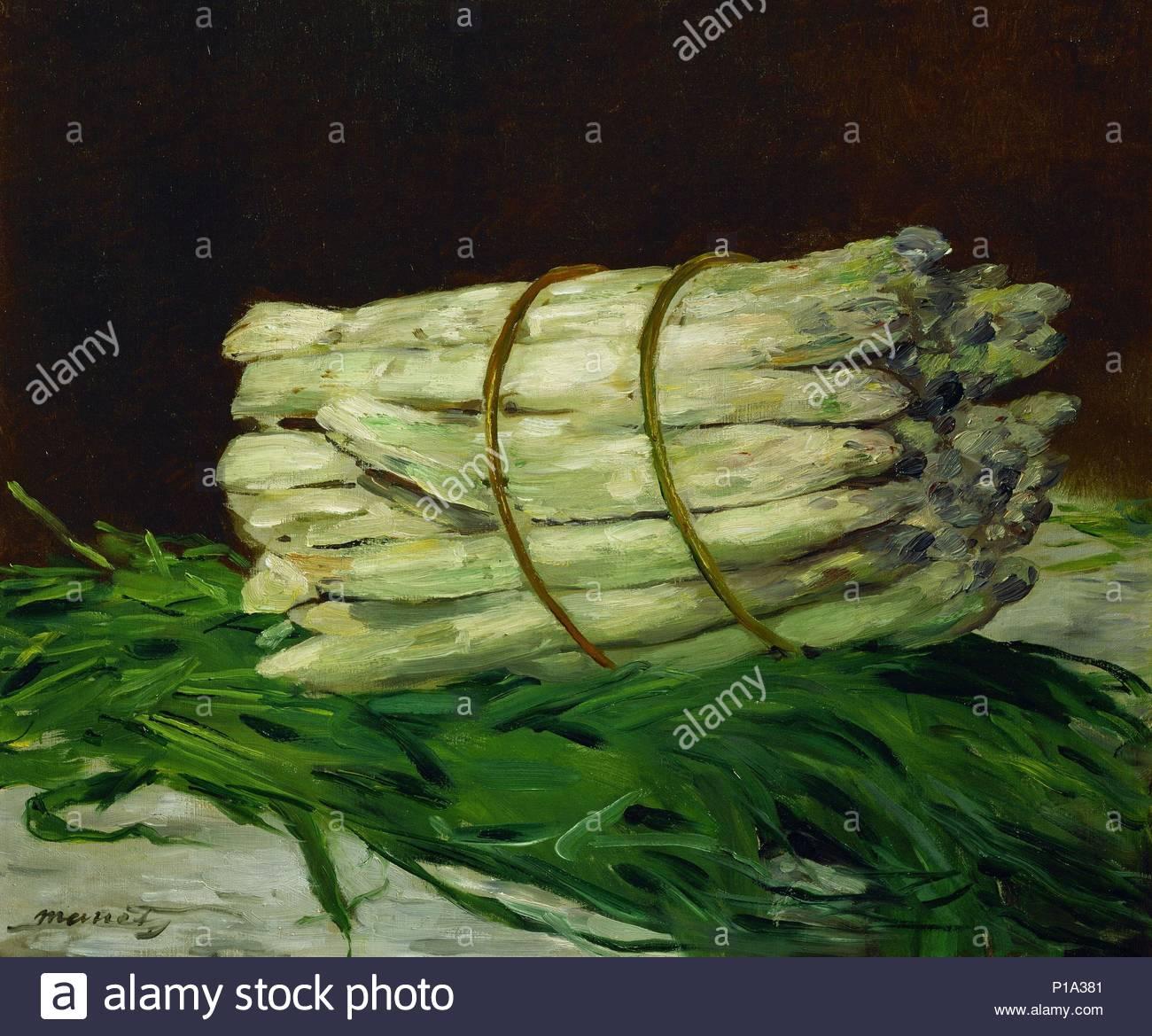 Asparagus Oil Painting