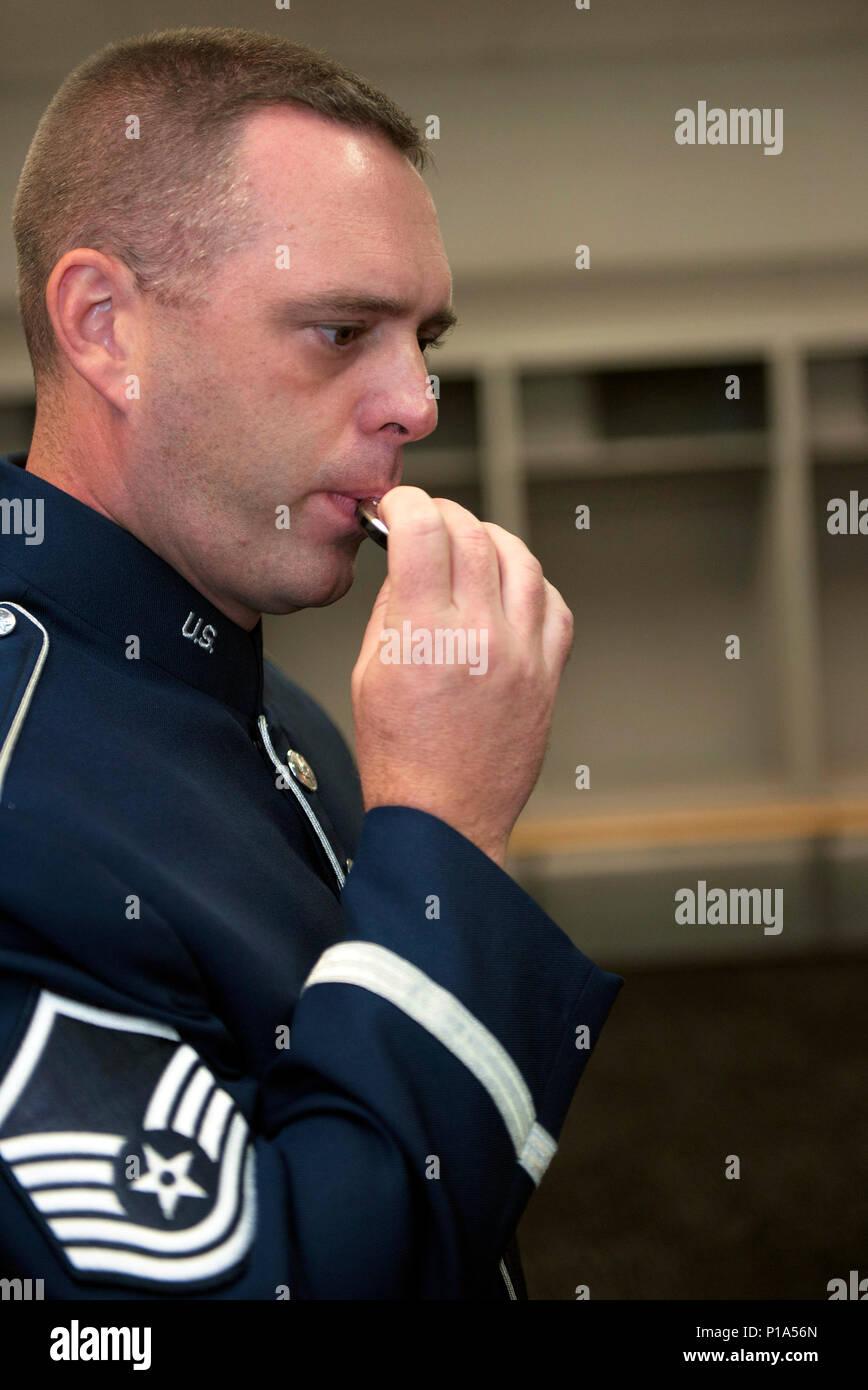 U S  Air Force Master Sgt  Eric Sullivan, a baritone