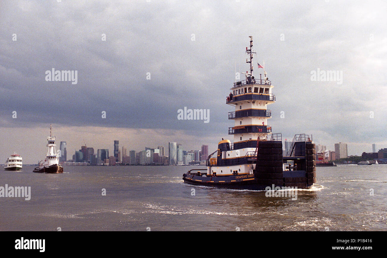 Parade of Boats - Stock Image
