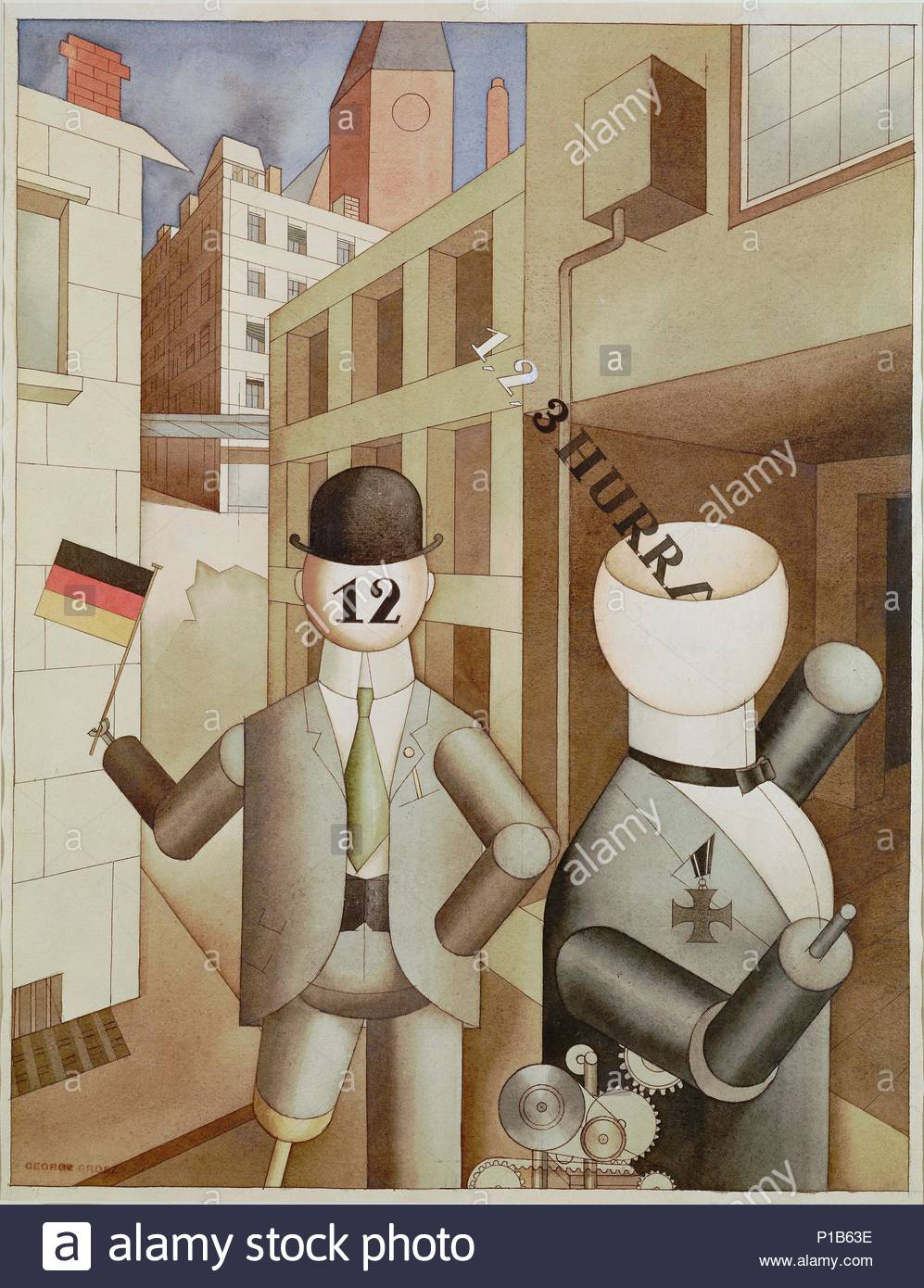 George Grosz Cafe Berlin