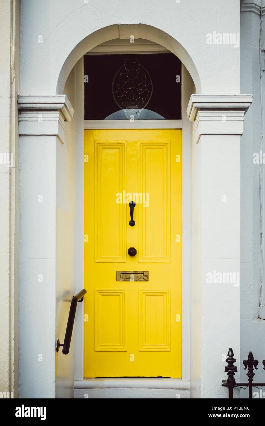 British architecture, Brighton, England - Stock Image