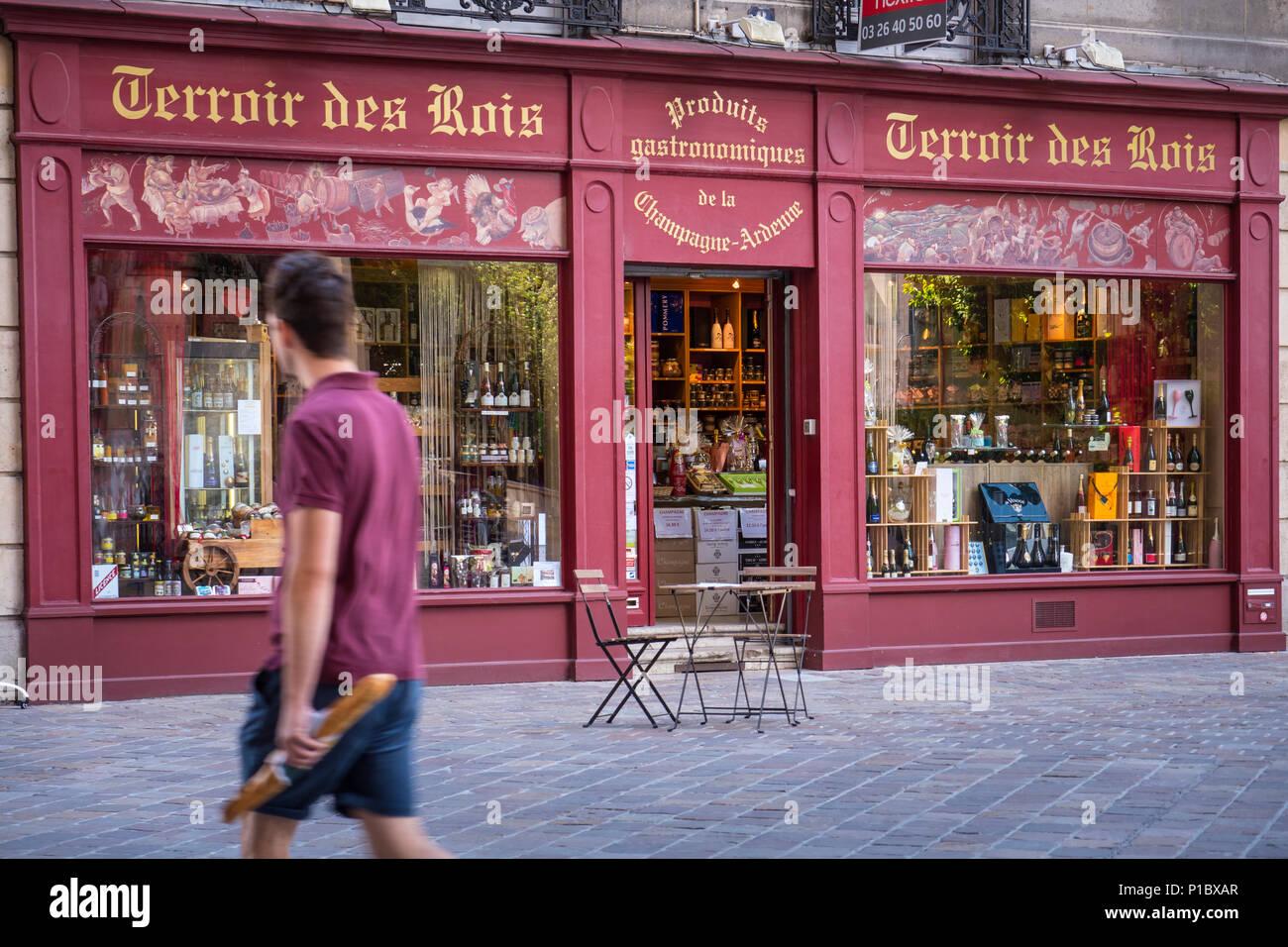 Terroir des Rois Reims Marne Grand Est France - Stock Image