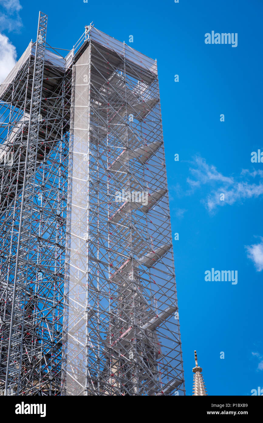 Scaffolding - Stock Image