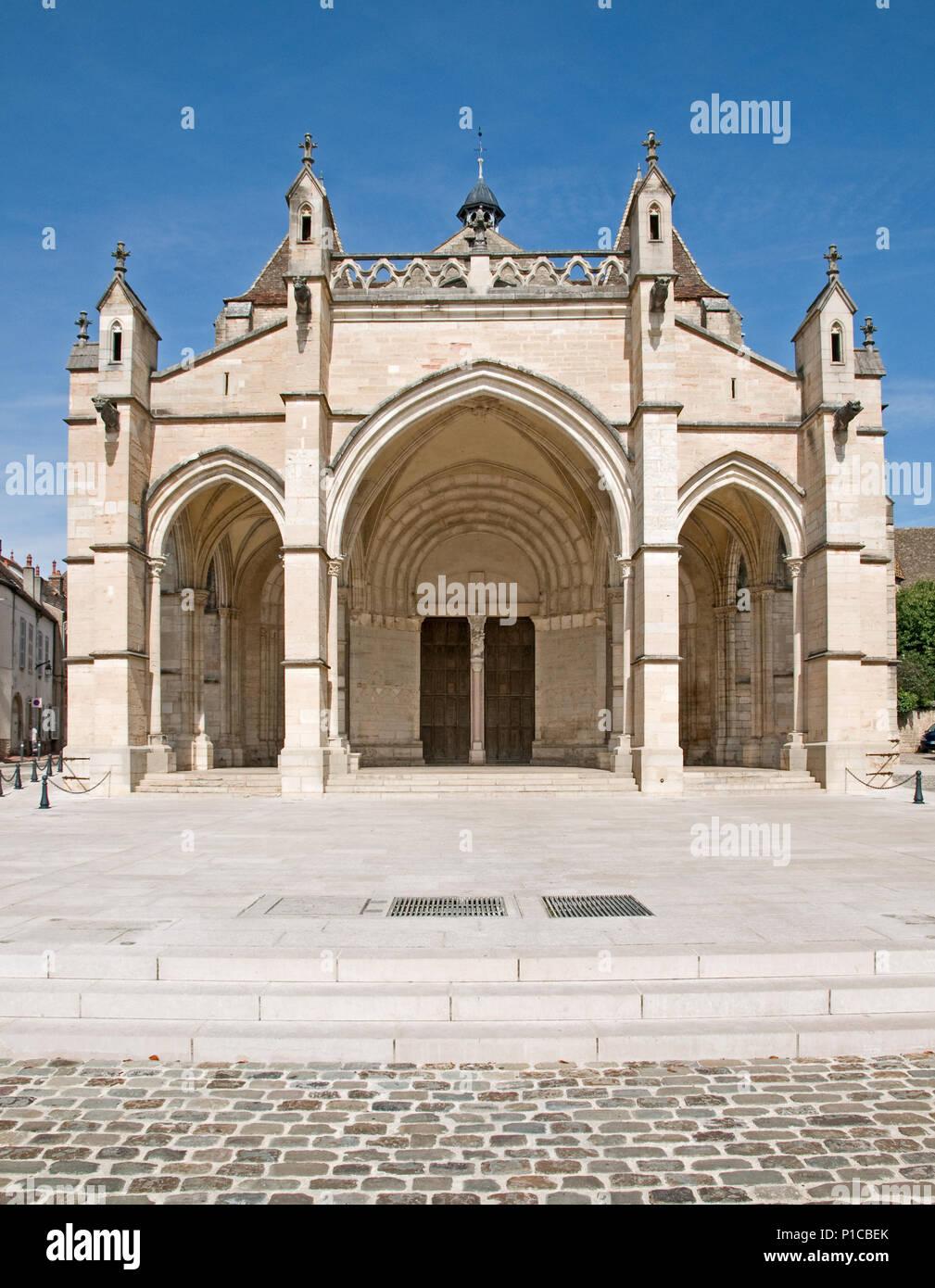 France Romanesque Architecture Stock Photos France