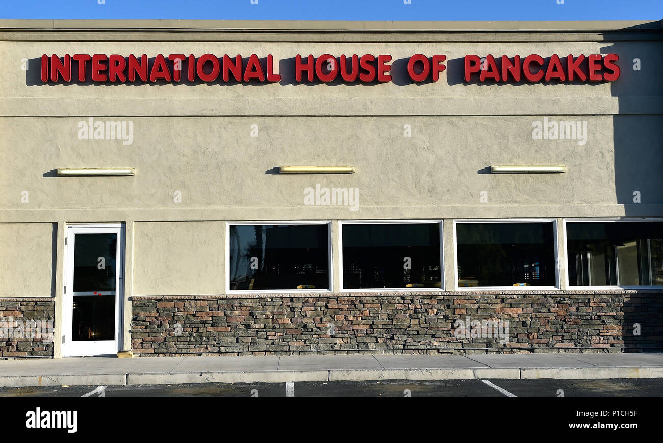 Las Vegas, Nevada, USA. 11th June, 2018. The sign for an IHOP ...