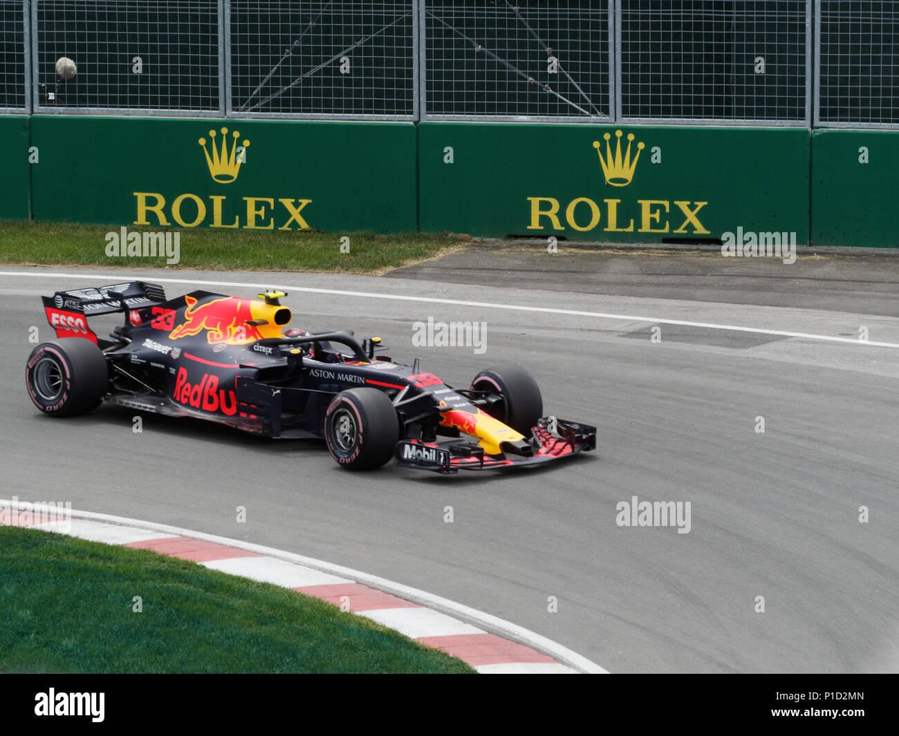 Formula 1 Canadian Grand Prix - Stock Image