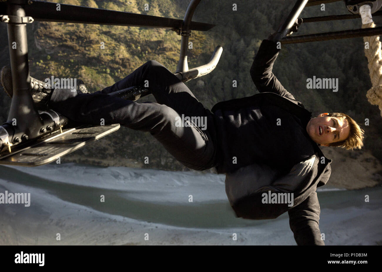 Mission: Impossible – Fallout is an upcoming American action spy film written, directed and co-produced by Christopher McQuarrie. It is the sixth installment in the Mission: Impossible film series and stars Tom Cruise, Rebecca Ferguson, Ving Rhames, Simon Pegg, Michelle Monaghan, Alec Baldwin and Sean Harris.  This photograph is for editorial use only and is the copyright of the film company and/or the photographer assigned by the film or production company and can only be reproduced by publications in conjunction with the promotion of the above Film. A Mandatory Credit to the film company is Stock Photo