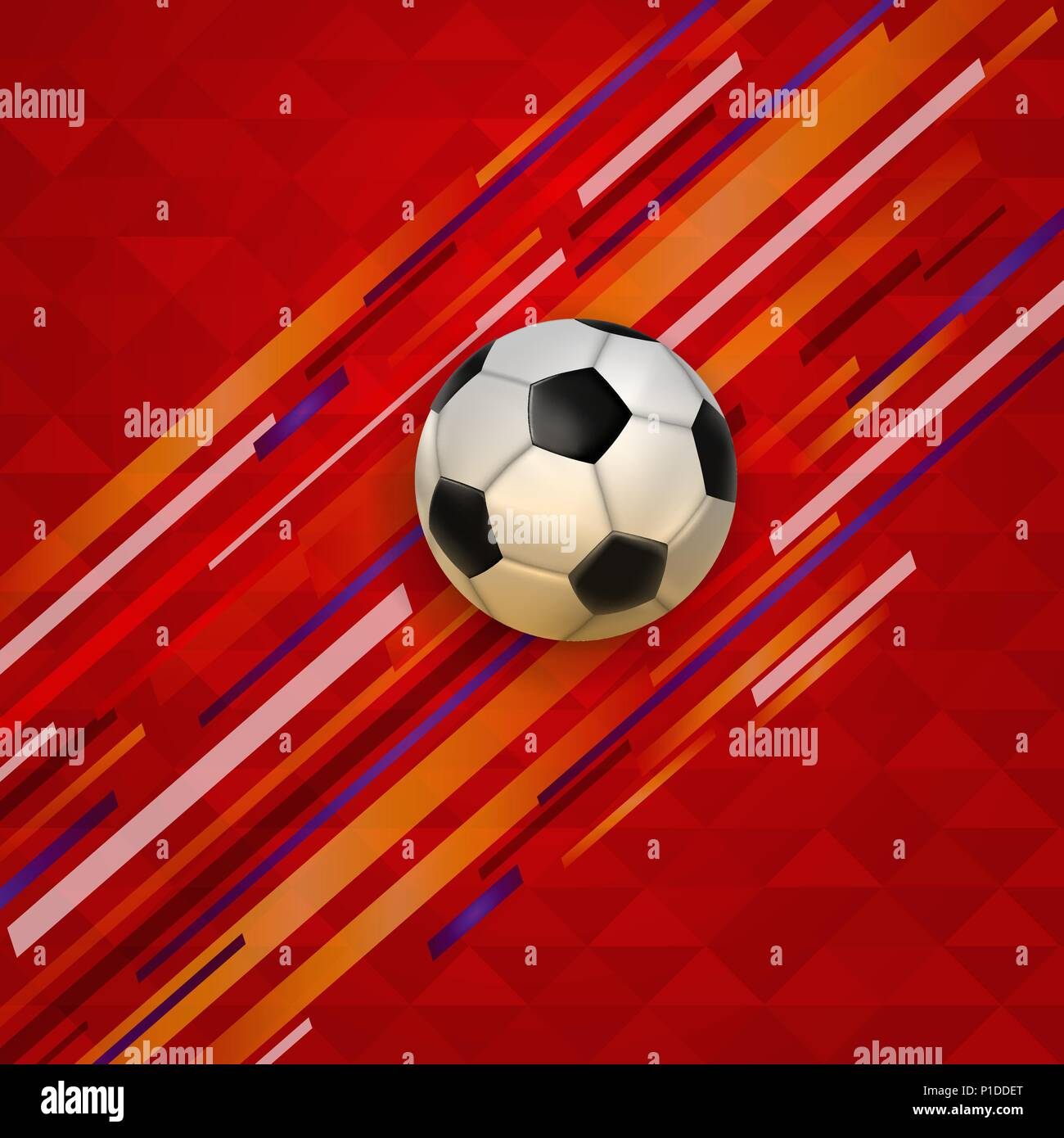 soccer background for football match realistic sports foot ball in