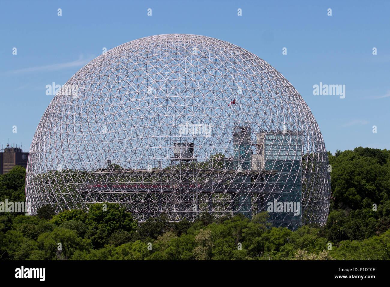 Montreal Biosphere Stock Photo