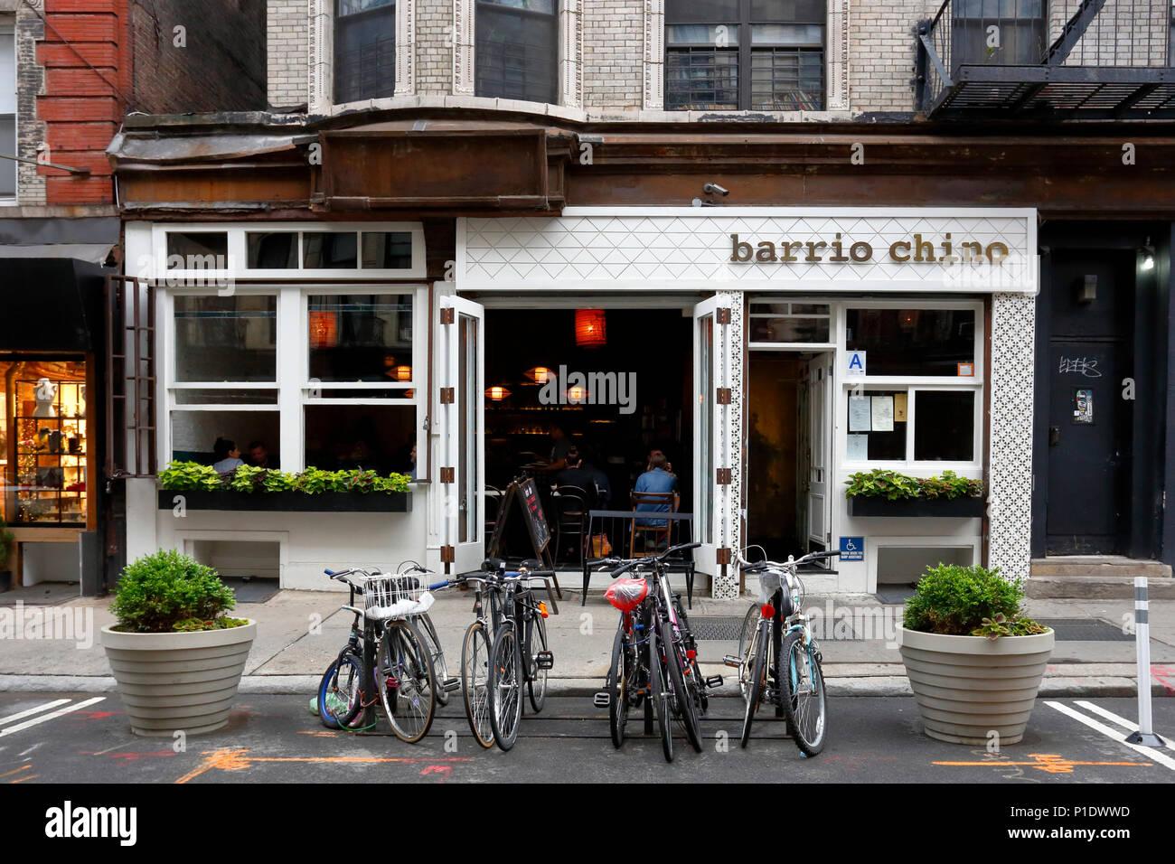 Barrio Chino, 253 Broome St, New York, NY - Stock Image