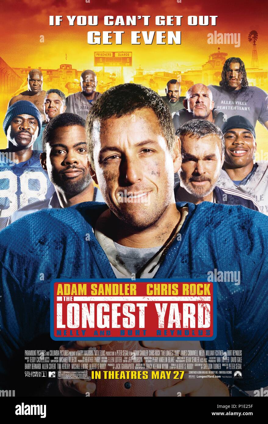 The Longest Yard Film Stock Photos & The Longest Yard Film
