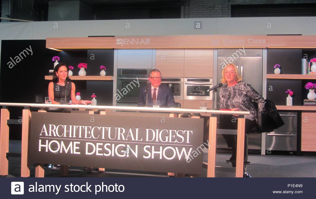Margaret Russell Keynotes The Architectural Digest Home Design Show At Pier  92 In NYC.