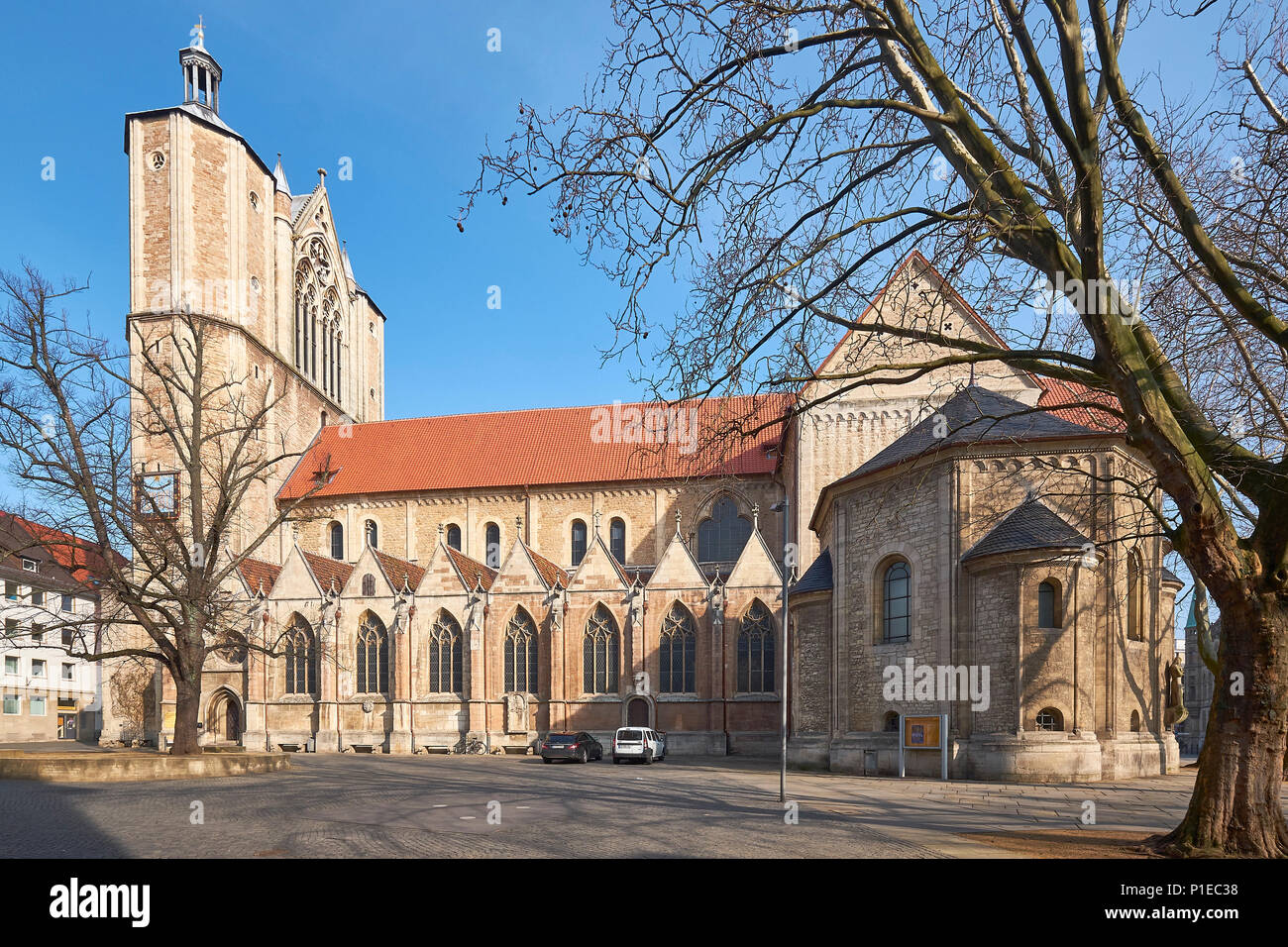 Brunswick Cathedral, Lower Saxony, Germany - Stock Image