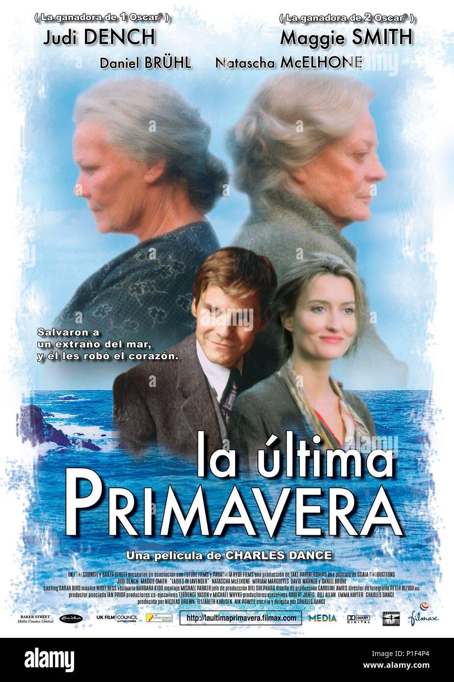 Original Film Title: LADIES IN LAVENDER.  English Title: LADIES IN LAVENDER.  Film Director: CHARLES DANCE.  Year: 2004. Stock Photo