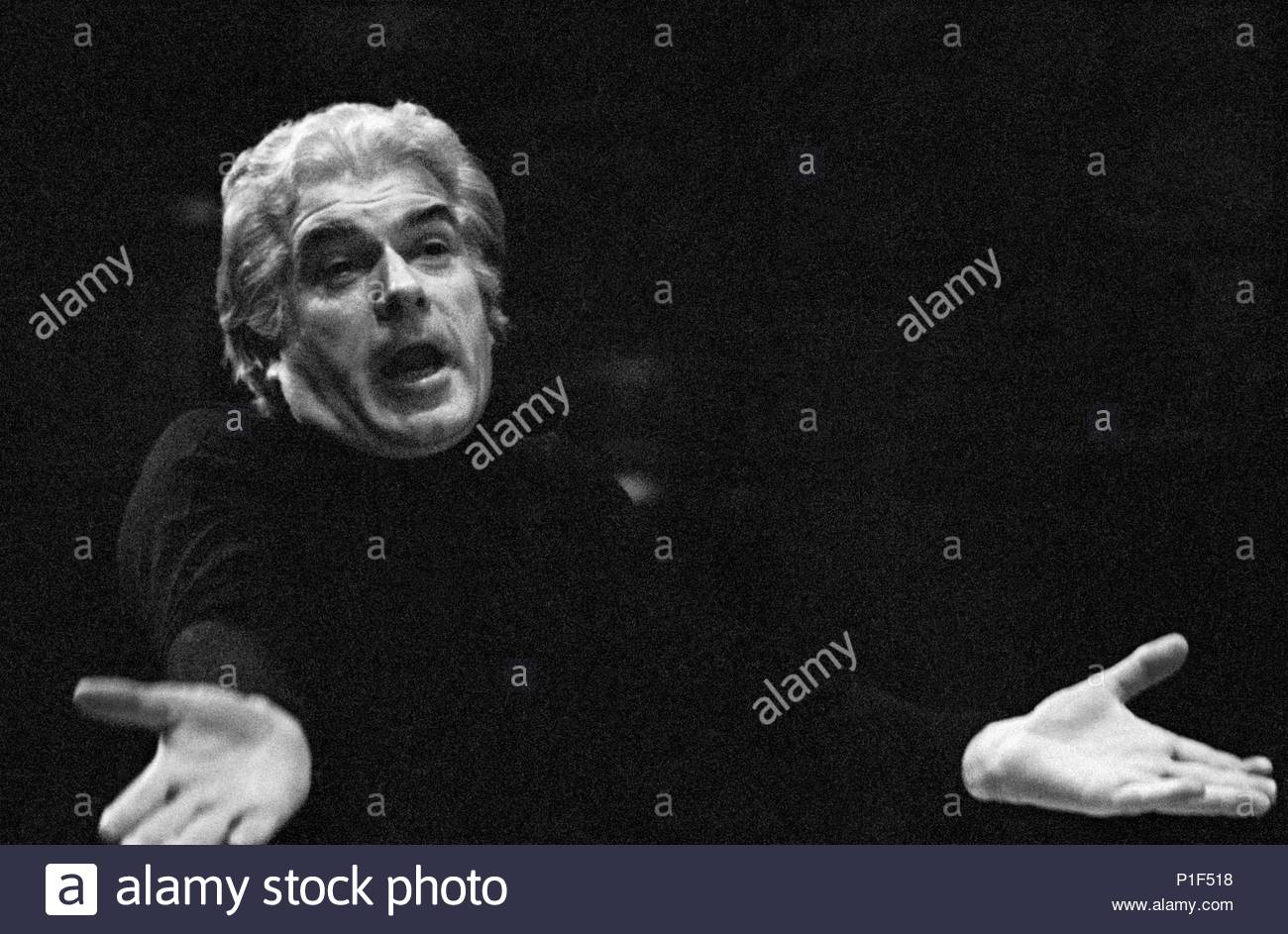 The Paris Opera in the Palais Garnier reopened in 1973 under its new director Rolf Liebermann. Giorgio Strehler directed the premiere of Mozart's Marriage of Figaro, Paris Opera,1973. Location: Operahouse Palais Garnier, Paris, France. - Stock Image