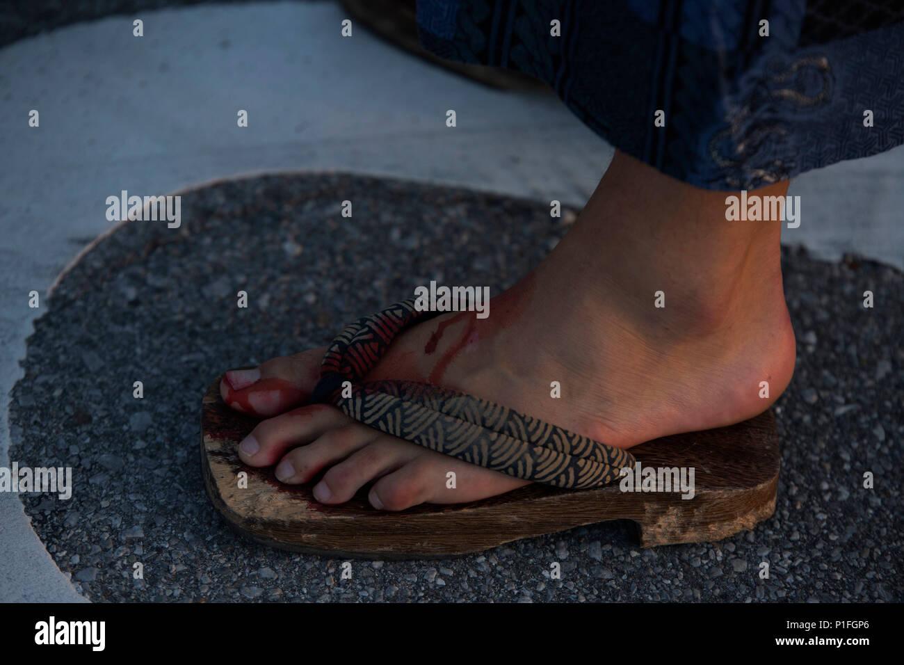 Feet sheri moon zombie Rob Zombie