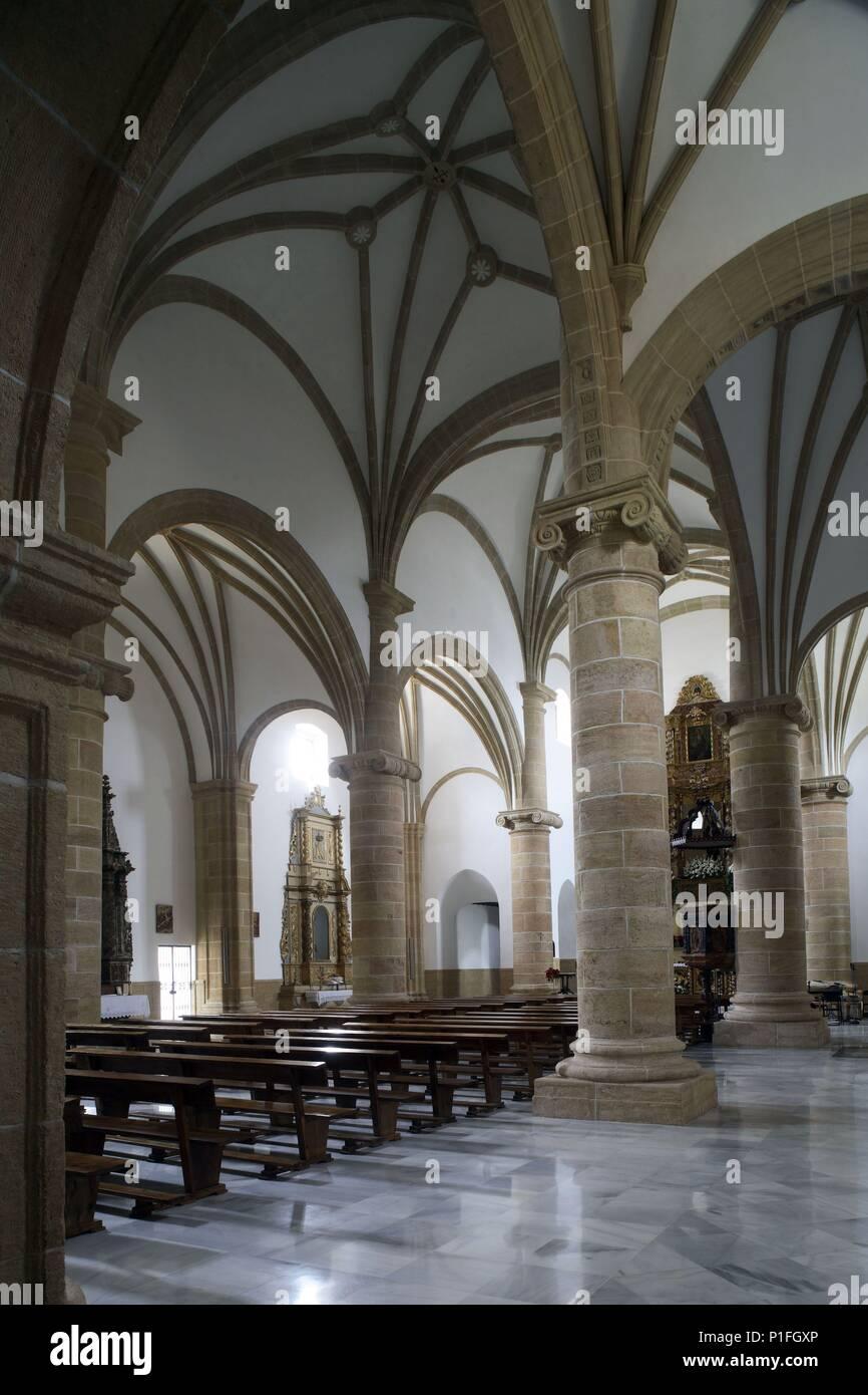 SPAIN - Cuenca de Mula (district) - MURCIA. Cehegín; Iglesia de Santa María Magdalena de 'puro' trazado renacentista. - Stock Image