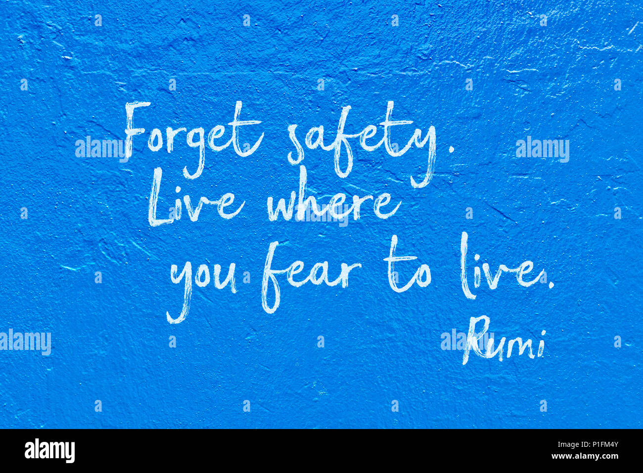 Forget Safety Live Where You Fear To Live Ancient Persian Poet