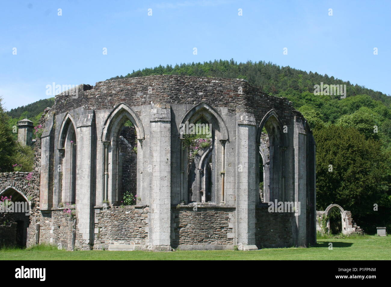 Margam country park with an industrial past and full of historical features set in 1000 acres of rolling countryside Stock Photo