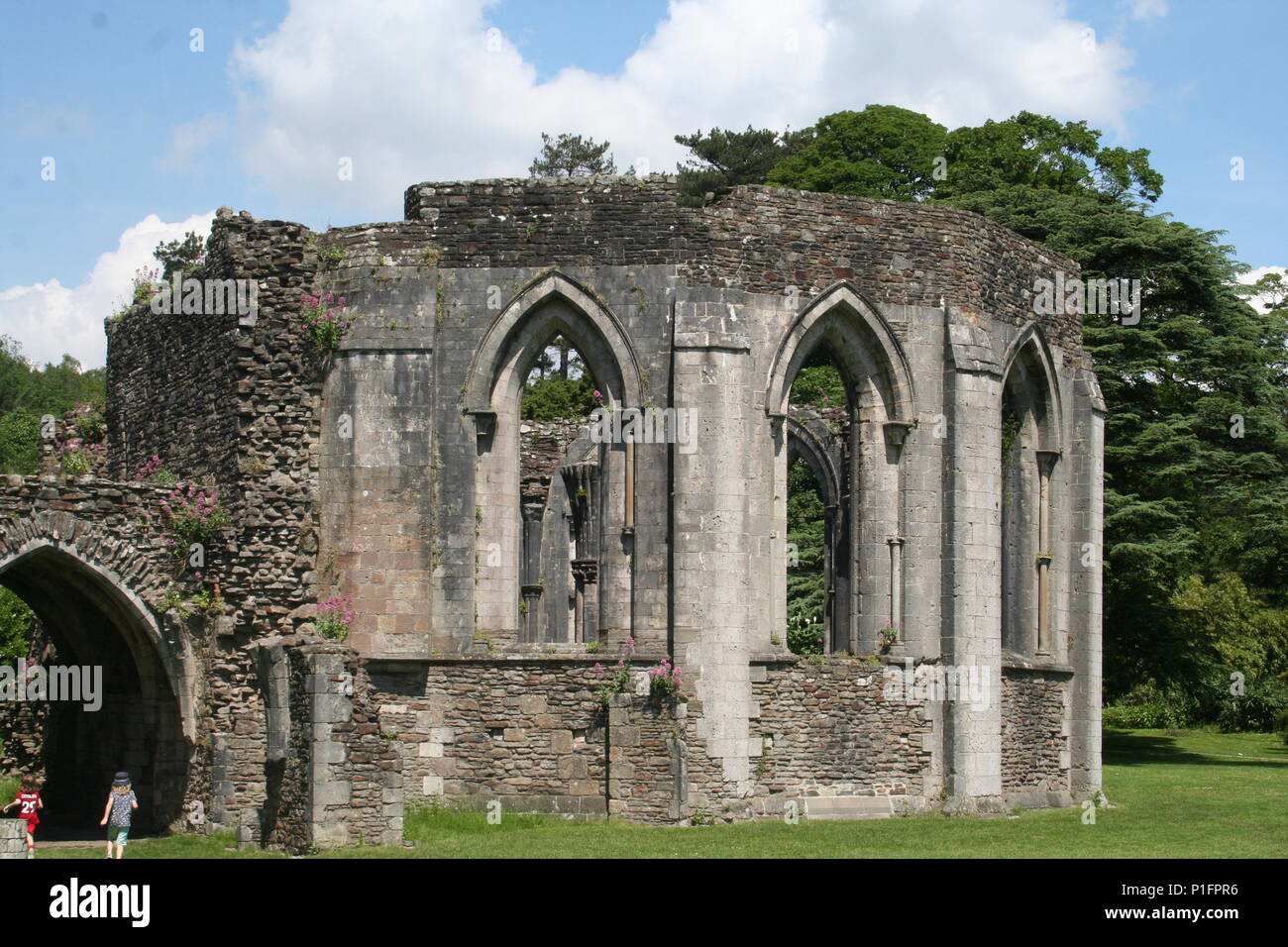 Margam country park with an industrial past and full of historical features set in 1000 acres of rolling countryside - Stock Image