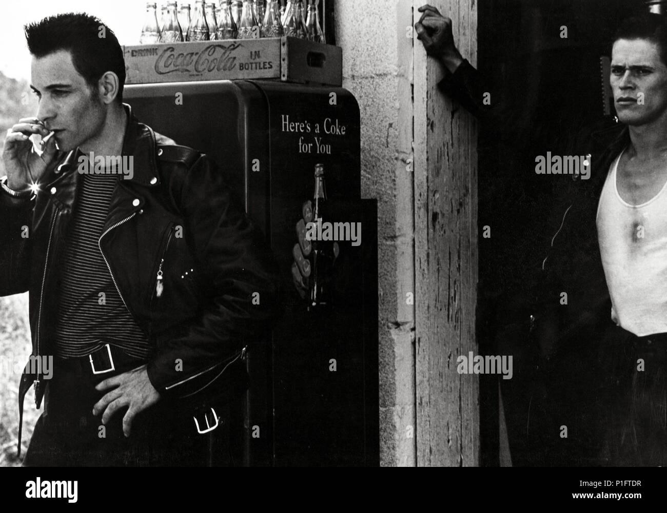 Original Film Title: THE LOVELESS.  English Title: THE LOVELESS.  Film Director: KATHRYN BIGELOW.  Year: 1982.  Stars: WILLEM DAFOE; ROBERT GORDON. Credit: PIONEER PICTURES / Album - Stock Image