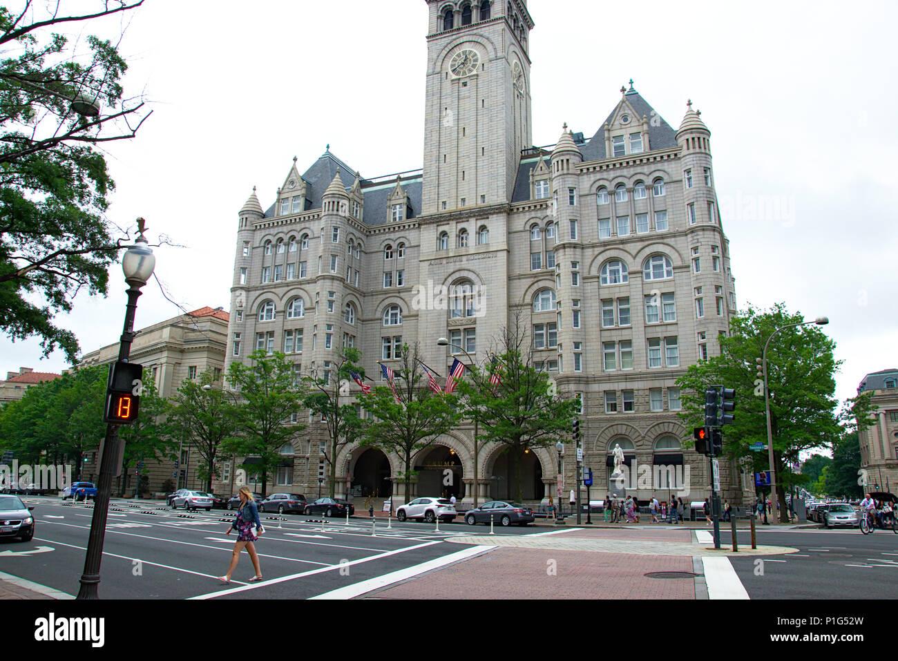 Trump International Hotel in DC - Stock Image
