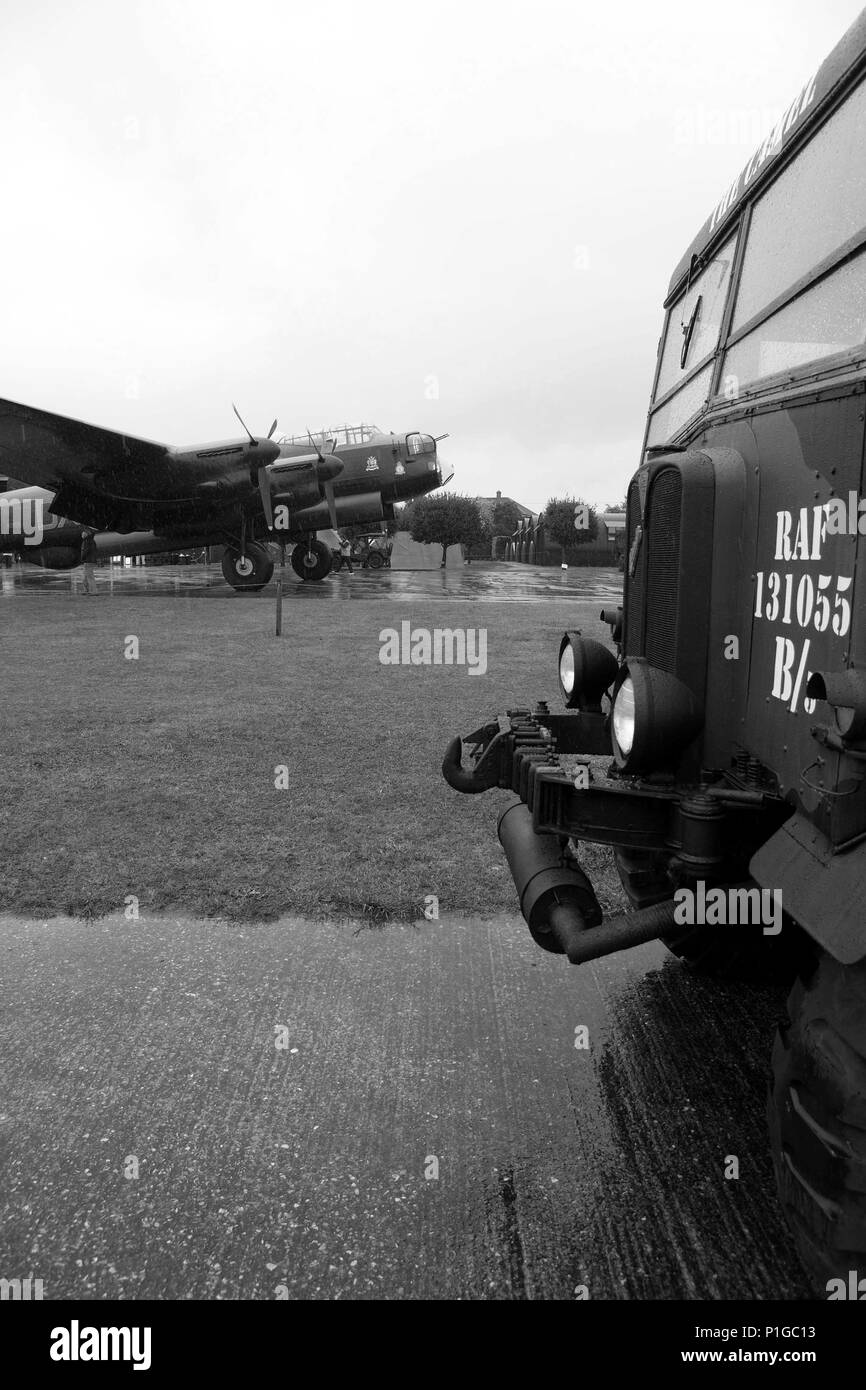 Avro Lancaster - Stock Image