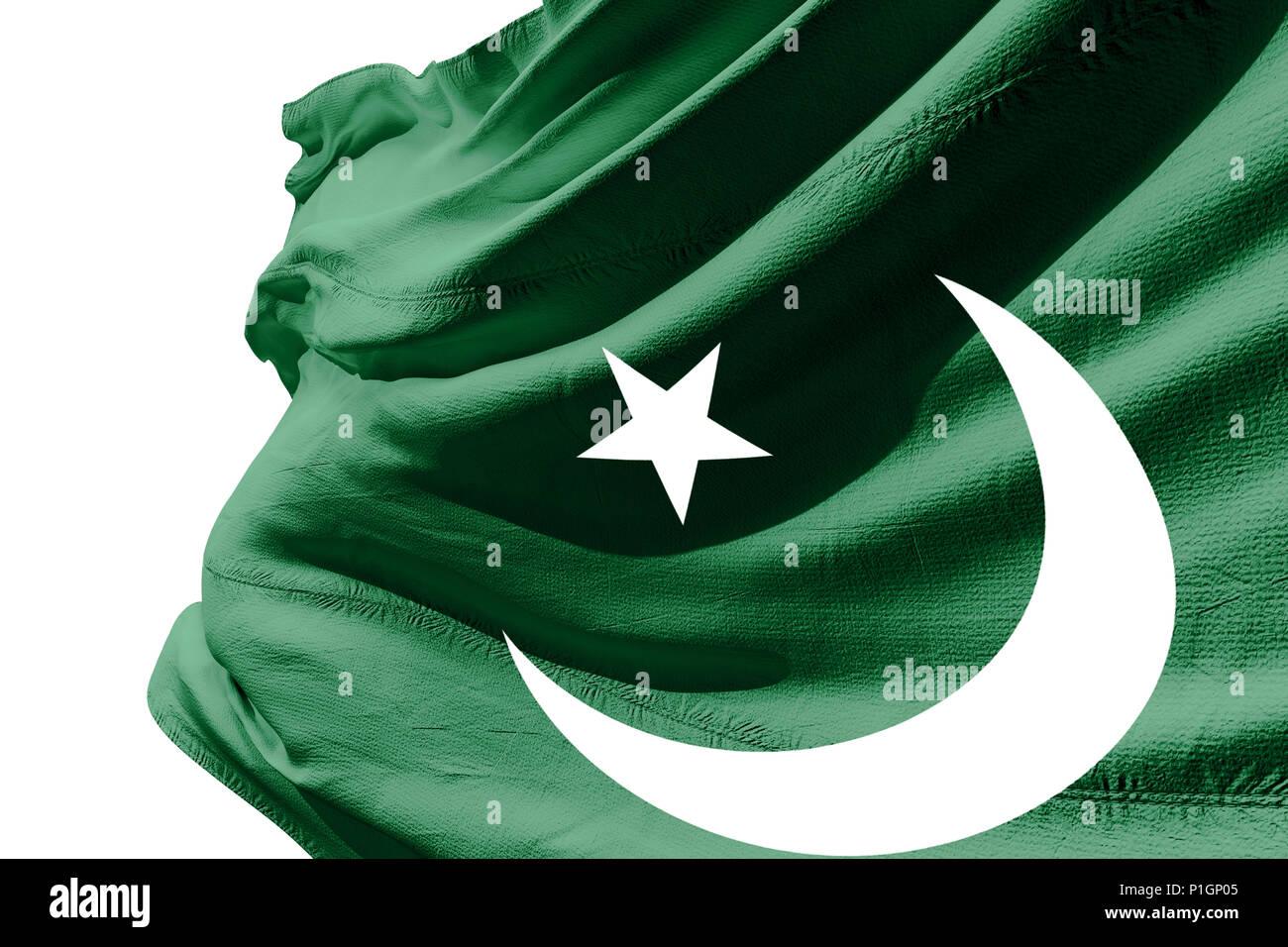 4bf7772a05 3d Pakistan Flag Stock Photos & 3d Pakistan Flag Stock Images - Alamy