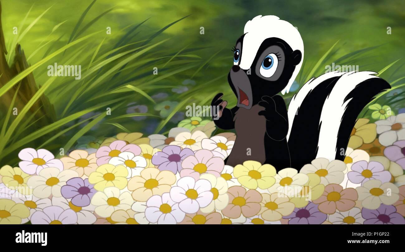 Flower Skunk Bambi