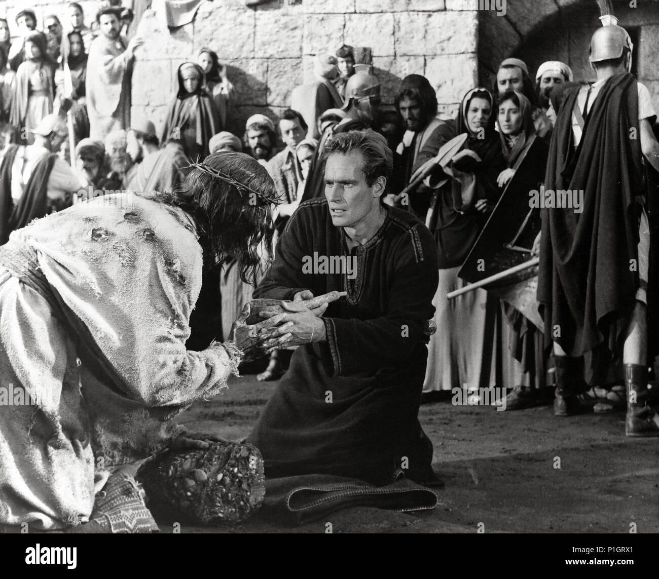 Original Film Title: BEN-HUR.  English Title: BEN-HUR.  Film Director: WILLIAM WYLER.  Year: 1959. Credit: M.G.M. / Album - Stock Image