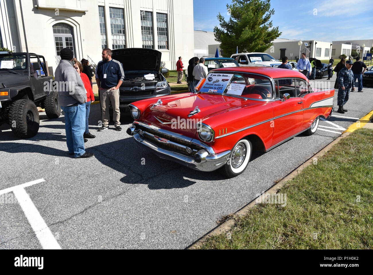 A 1957 Chevrolet Bel Air Belonging To Safety Engineer Thomas Martino