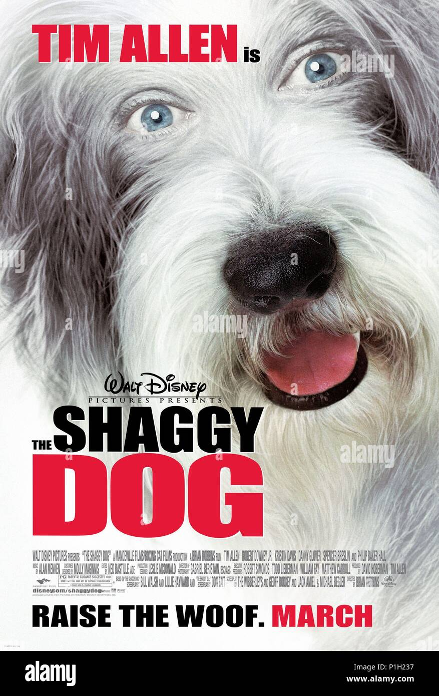 Original Film Title: THE SHAGGY DOG  English Title: THE