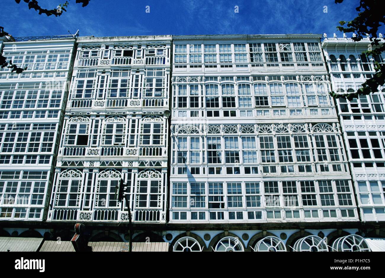 Galerias La Coruña Spain High Resolution Stock Photography And Images Alamy